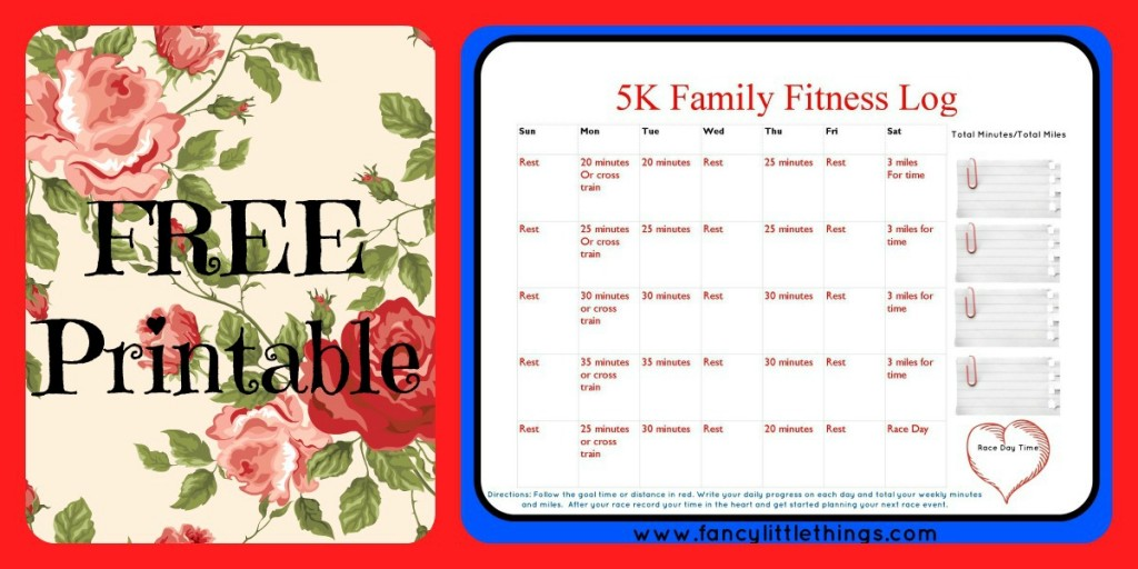 free printable fitness
