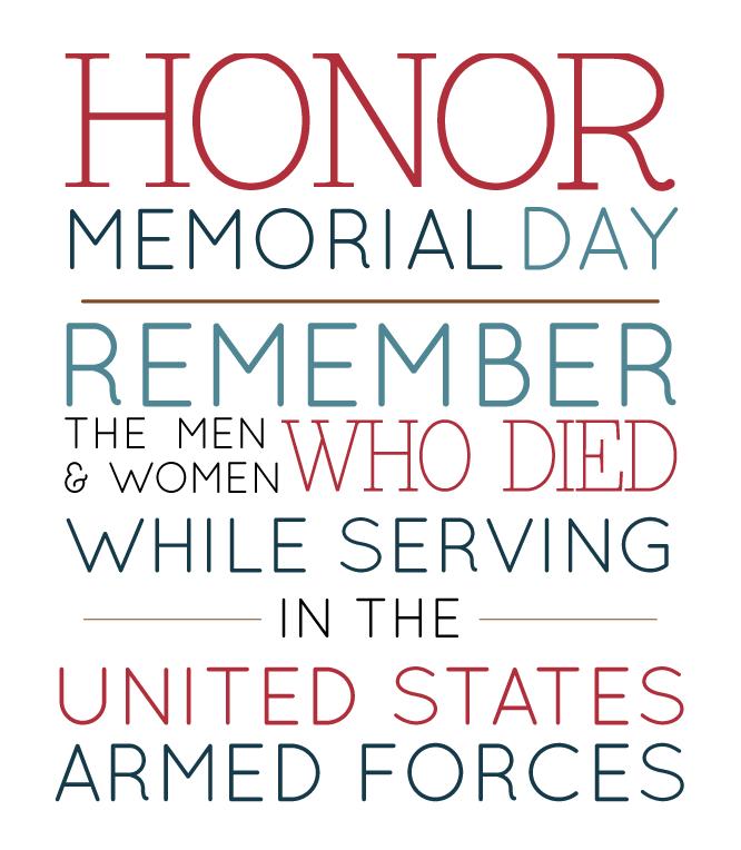 HonorMemorialDay