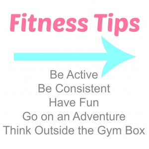 5 Fitness Tips for The Everyday Woman via Fancy Little Things