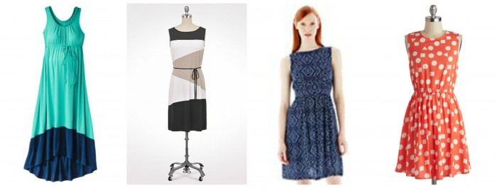 Summer Fashion:  The Dress - Collage @ Fancy Little Things