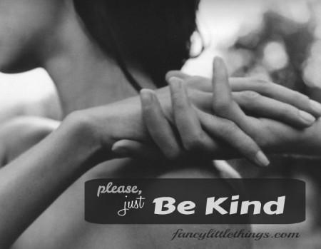 be kind FLT