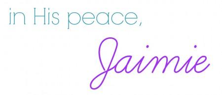 Jaimie signature