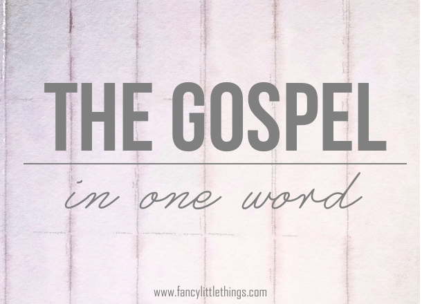What the Gospel is really all about