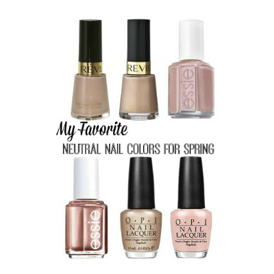 My Favorite Neutral Nail Colors for Spring