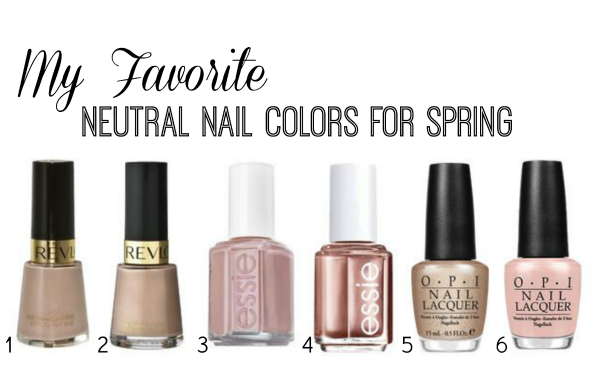 Neutral Nails for Spring