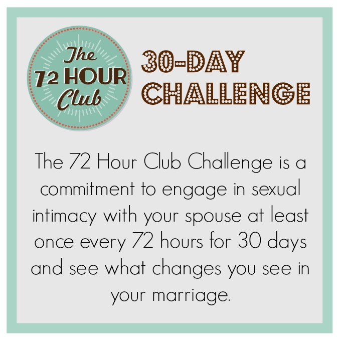 30-day Wife Encouragement Challenge 72 Hour 30 Day Challenge