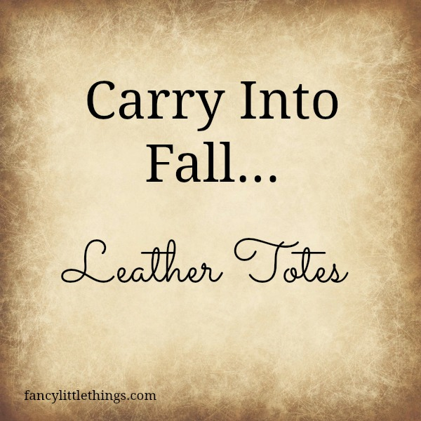 Carry Into Fall