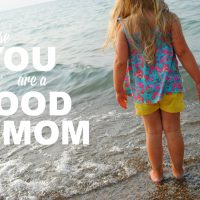 you are a good mom button 1