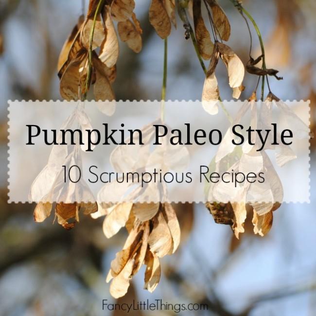 Pumpkin Paleo Style