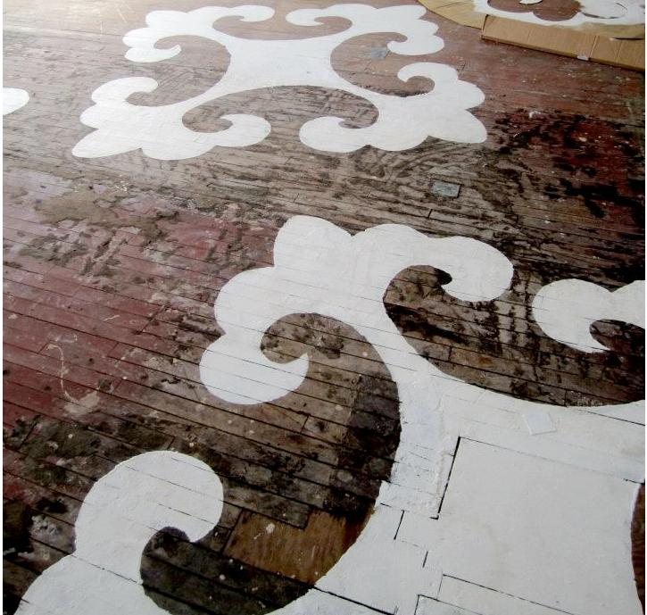 flooring-painted
